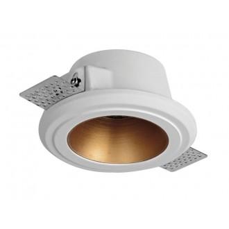 VIOKEF 4209800 | Flame-VI Viokef ugradbena svjetiljka može se bojati Ø125mm 125x125mm 1x GU10 bijelo, crveni bakar