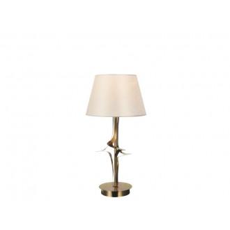 VIOKEF 4210600 | Juliet Viokef stolna svjetiljka 45cm 1x E27 zlatno, bež