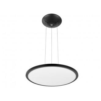 VIOKEF 4213800 | Aida-VI Viokef visilice svjetiljka 1x LED 2200lm 3000K crno, bijelo
