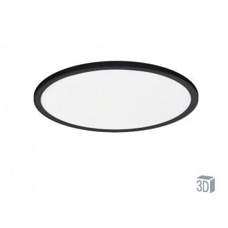 VIOKEF 4213900 | Aida-VI Viokef stropne svjetiljke svjetiljka 1x LED 1650lm 3000K crno, bijelo