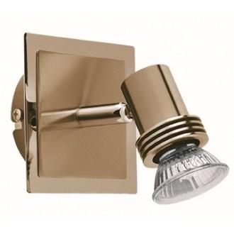 VIOKEF 461901 | Cha-Cha Viokef spot svjetiljka elementi koji se mogu okretati 1x GU10 antik, zlatno
