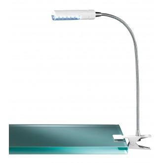 WOFI 290312060000 | FlexW Wofi svjetiljke sa štipaljkama svjetiljka s prekidačem fleksibilna 1x LED 200lm 3000K bijelo, krom