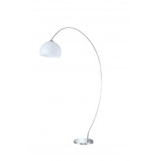 WOFI 308401010000 | Sander Wofi podna svjetiljka 170cm s prekidačem 1x E27 krom, bijelo