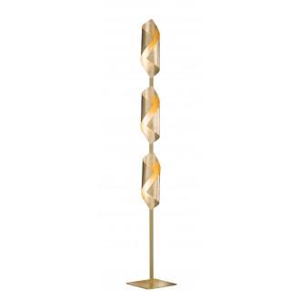 WOFI 3325.03.15.8000   Safira-WO Wofi podna svjetiljka 142cm s prekidačem 3x LED 600lm 3000K zlatno