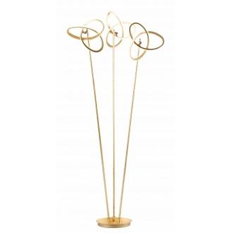 WOFI 3410.03.15.8000   Eliot-WO Wofi podna svjetiljka 140cm s prekidačem elementi koji se mogu okretati 3x LED 3300lm 3000K zlatno