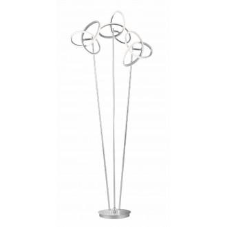 WOFI 3410.03.70.8000   Eliot-WO Wofi podna svjetiljka 140cm s prekidačem elementi koji se mogu okretati 3x LED 3300lm 3000K srebrno