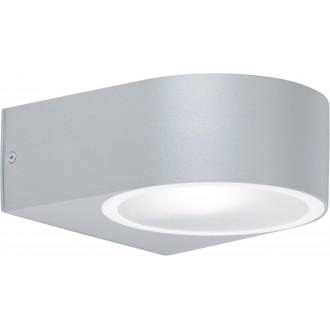 WOFI 4061.01.50.7000 | OsloW Wofi zidna svjetiljka 1x E27 IP44 sivo