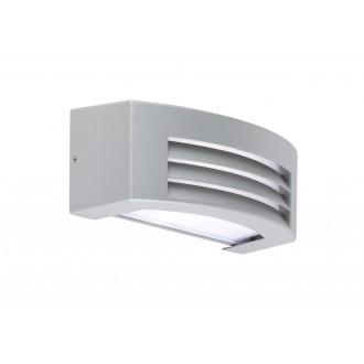 WOFI 4062.01.50.7000 | LimaW Wofi zidna svjetiljka 1x E27 IP44 sivo