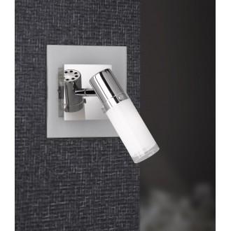 WOFI 4076.01.01.0000 | Marco Wofi zidna svjetiljka s prekidačem 1x E14 krom, blistavo bijela
