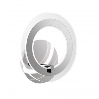 WOFI 4146.01.01.0000 | Noemi Wofi zidna svjetiljka s prekidačem 1x LED 800lm 3000K krom, prozirno