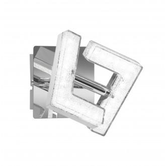 WOFI 4290.01.01.6000 | LeaW Wofi spot svjetiljka elementi koji se mogu okretati 1x LED 325lm 3000K krom, učinak kristala