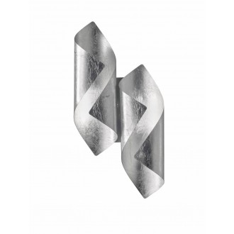 WOFI 4325.02.70.8000   Safira-WO Wofi zidna svjetiljka 2x LED 400lm 3000K srebrno