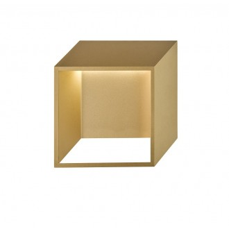 WOFI 4416.01.15.8000 | Quebec Wofi zidna svjetiljka 1x LED 400lm 3000K zlatno