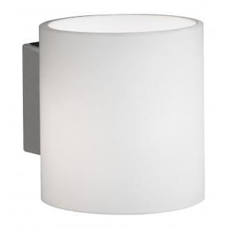 WOFI 4451.01.64.0000 | Aqaba Wofi zidna svjetiljka sa prekidačem na kablu 1x G9 370lm 2800K poniklano mat, bijelo