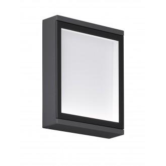 WOFI 4706.01.88.0000 | HallW Wofi zidna svjetiljka 1x LED 320lm 3000K IP54 antracit, bijelo