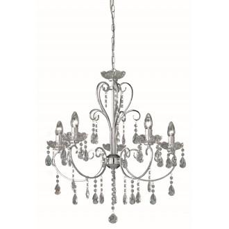 WOFI 5225.05.01.0000 | ArizonaW Wofi luster svjetiljka 5x E14 krom