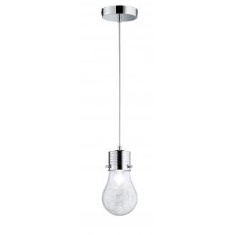 WOFI 600301010150 | FuturaW Wofi visilice svjetiljka 1x E14 krom, prozirno