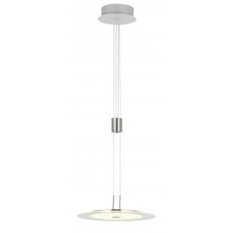 WOFI 6120.01.54.0000 | RomaW Wofi visilice svjetiljka balansna - ravnotežna, sa visinskim podešavanjem, jačina svjetlosti se može podešavati 1x LED 1800lm 3000K poniklano mat, krom, bijelo