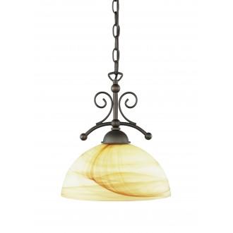 WOFI 6128.01.09.0000 | Lacchino Wofi visilice svjetiljka s mogućnošću skraćivanja kabla 1x E27 boja rdže