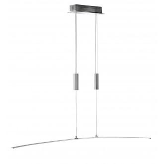 WOFI 7145.01.01.0000 | FreyaW Wofi visilice svjetiljka balansna - ravnotežna, sa visinskim podešavanjem 1x LED 1600lm 3000K krom