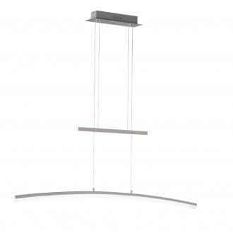 WOFI 723001646000 | Ferrol Wofi visilice svjetiljka balansna - ravnotežna, sa visinskim podešavanjem, jačina svjetlosti se može podešavati 1x LED 2900lm 3000K poniklano mat, bijelo
