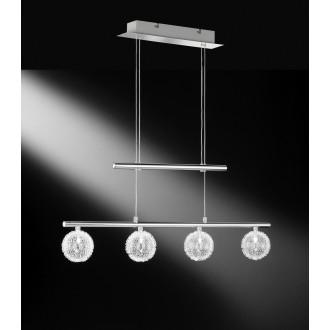 WOFI 7360.04.01.0000 | AstroW Wofi visilice svjetiljka balansna - ravnotežna, sa visinskim podešavanjem 4x G4 krom
