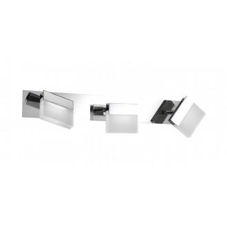 WOFI 7501.03.01.0044 | Sonett Wofi zidna, stropne svjetiljke svjetiljka elementi koji se mogu okretati 3x LED 960lm 3000K IP23 krom, bijelo