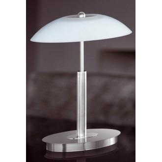 WOFI 8041.02.64.0010 | MaximeW Wofi stolna svjetiljka 33cm sa tiristorski dodirnim prekidačem jačina svjetlosti se može podešavati 2x G9 920lm 2700K poniklano mat