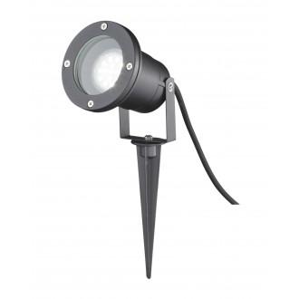 WOFI 8055.01.10.7000 | Garpa Wofi ubodne svjetiljke svjetiljka izvori svjetlosti koji se mogu okretati 1x GU10 IP44 crno