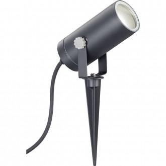 WOFI 8056.01.10.7000 | FaroW Wofi ubodne svjetiljke svjetiljka izvori svjetlosti koji se mogu okretati 1x GU10 IP44 crno