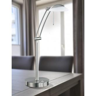 WOFI 8343.01.64.0000 | Liverpool Wofi stolna svjetiljka 70cm sa tiristorskim prekidačem jačina svjetlosti se može podešavati 1x G9 740lm 2800K poniklano mat