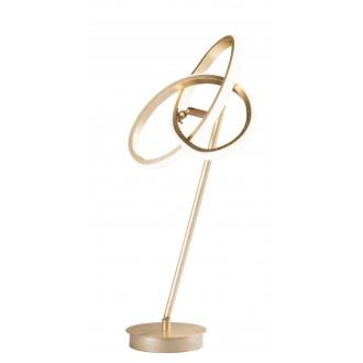 WOFI 8410.01.15.8000   Eliot-WO Wofi stolna svjetiljka 50cm s prekidačem elementi koji se mogu okretati 1x LED 1100lm 3000K zlatno