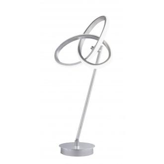 WOFI 8410.01.70.8000   Eliot-WO Wofi stolna svjetiljka 50cm s prekidačem elementi koji se mogu okretati 1x LED 1100lm 3000K srebrno