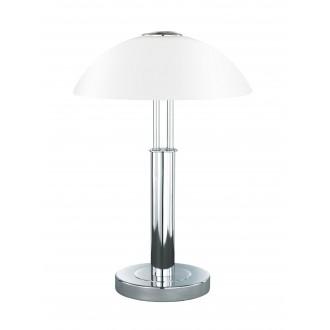 WOFI 8747.02.01.0000 | Prescot Wofi stolna svjetiljka 42cm sa tiristorski dodirnim prekidačem jačina svjetlosti se može podešavati 2x E14 krom