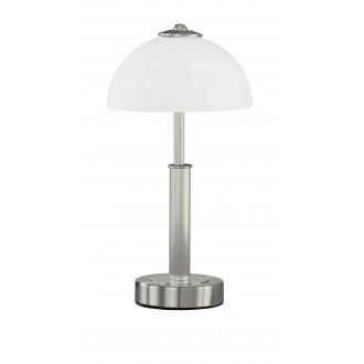 WOFI 8865.02.64.0000 | PopW Wofi stolna svjetiljka 38cm sa tiristorski dodirnim prekidačem jačina svjetlosti se može podešavati 2x E14 poniklano mat