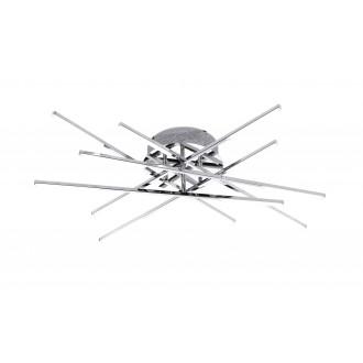 WOFI 9018.12.01.5000 | Forte Wofi stropne svjetiljke svjetiljka 12x LED 2100lm 3000K krom, bijelo