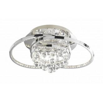 WOFI 9103.01.01.8460 | Medley Wofi stropne svjetiljke svjetiljka s impulsnim prekidačem jačina svjetlosti se može podešavati 1x LED 3100lm 3000K krom