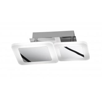 WOFI 9157.02.01.6000 | Impuls Wofi stropne svjetiljke svjetiljka elementi koji se mogu okretati 1x LED 1200lm 3000K krom, bijelo