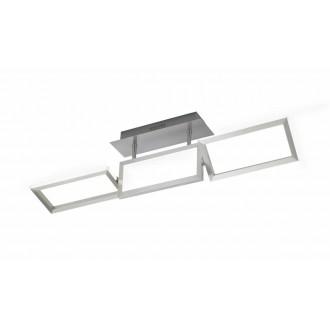 WOFI 9159.01.63.8000 | Skip Wofi stropne svjetiljke svjetiljka elementi koji se mogu okretati 1x LED 2000lm 3000K brušeni aluminij
