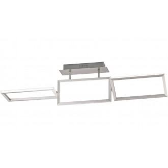 WOFI 9159.01.63.8100 | Skip Wofi stropne svjetiljke svjetiljka elementi koji se mogu okretati 1x LED 2500lm 3000K brušeni aluminij