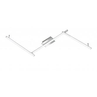 WOFI 9163.03.01.0000 | Clay Wofi stropne svjetiljke svjetiljka 3x LED 2460lm 3000K krom