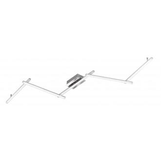 WOFI 9163.05.01.0000 | Clay Wofi stropne svjetiljke svjetiljka daljinski upravljač jačina svjetlosti se može podešavati 5x LED 4100lm 3000K krom