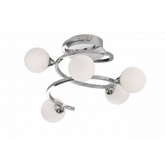 WOFI 9188.05.01.8000 | Avery Wofi stropne svjetiljke svjetiljka 5x G9 1600lm 3000K krom