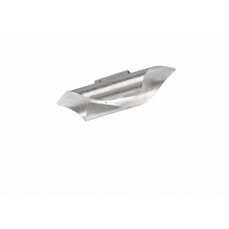 WOFI 9325.01.70.8000   Safira-WO Wofi zidna, stropne svjetiljke svjetiljka 1x LED 1750lm 3000K srebrno