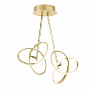WOFI 9410.02.15.8100   Eliot-WO Wofi stropne svjetiljke svjetiljka elementi koji se mogu okretati 2x LED 2200lm 3000K zlatno
