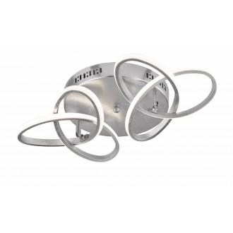 WOFI 9410.02.70.8000   Eliot-WO Wofi stropne svjetiljke svjetiljka elementi koji se mogu okretati 2x LED 2200lm 3000K srebrno