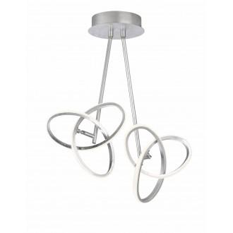 WOFI 9410.02.70.8100   Eliot-WO Wofi stropne svjetiljke svjetiljka elementi koji se mogu okretati 2x LED 2200lm 3000K srebrno
