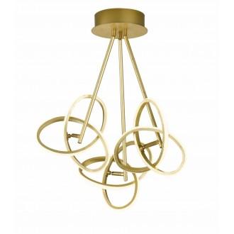 WOFI 9410.03.15.8100   Eliot-WO Wofi stropne svjetiljke svjetiljka elementi koji se mogu okretati 3x LED 3300lm 3000K zlatno