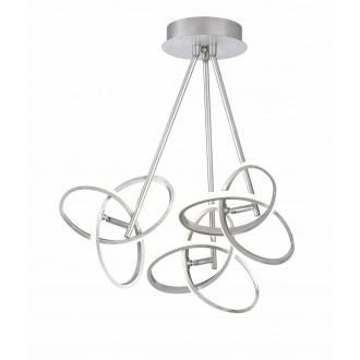 WOFI 9410.03.70.8100   Eliot-WO Wofi stropne svjetiljke svjetiljka elementi koji se mogu okretati 3x LED 3300lm 3000K srebrno