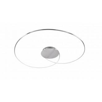 WOFI 9422.01.63.8450   Opus Wofi stropne svjetiljke svjetiljka jačina svjetlosti se može podešavati 1x LED 1300lm 3000K brušeni aluminij
